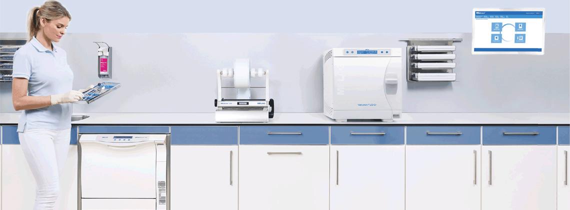 MELAG Instrumentenaufbereitung Thermodesinfektoren und Autoklaven