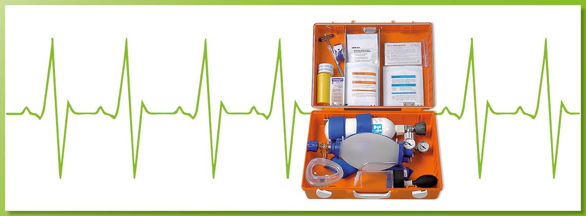 Notfallausstattung / Erste Hilfe