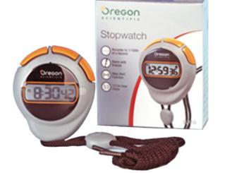 Sprint digital-Stoppuhr, grau/schwarz, inkl. Knopfzellenbatterie 1x1 Stück