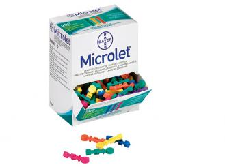 Microlet® Lanzetten Color 1x200 Stück