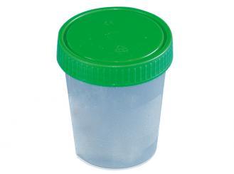 Urinbecher ,120 ml, mit Schraubdeckel, 1x500 Stück