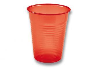 Universalbecher 180 ml, rot 1x100 Stück