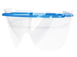Ersatzgläser für SAFEVIEW-Rahmen, Augenschutzbrillen, 1x25 Stück