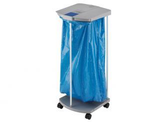 Hailo Abfall-Sammel-System Profi-Line WS, grau, 120 Liter mit 4 Rollen 1x1 Stück
