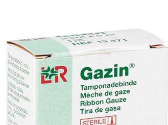 Gazin® Tamponadebinde steril 1 cm x 5 m 1x1 Stück