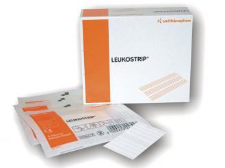 Leukostrip sterile Wundnahtstreifen 102 x 6,4 mm 10x5 Stück
