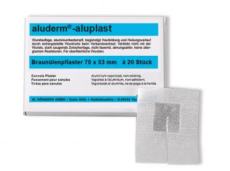 aluderm®-aluplast elastisch 70 x 53 mm 1x20 Stück