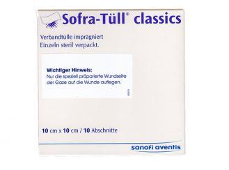 Sofra Tüll® classics Abschnitte 10 x10 cm 1x10 Stück