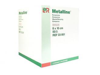 Metalline® Kompresse 8 x 10 cm steril 1x50 Stück