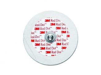 3M Red Dot EKG-Elektroden Ø=5cm, Erwachsene, 1x50 Stück Praxisbedarf