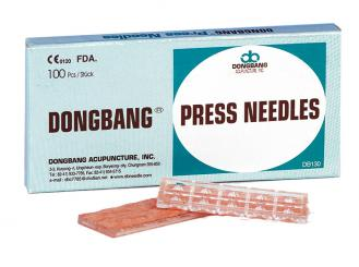 Dongbang Ohr-Dauernadeln, 0,2 x 1,0 mm 1x100 Stück