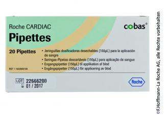 CARDIAC Pipetten zur Dosierung von 150 µl 1x20 Stück