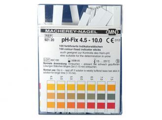pH-Indikatorstäbchen nicht blutend pH 4,5 - 10; 1x100 Stück