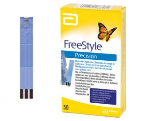 FreeStyle Precision, 1x50 Teste