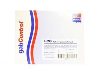 gabControl hCG Schwangerschaftsteststreifen 1x25 Stück