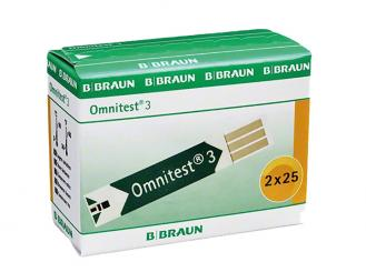 Omnitest® 3 Teststreifen 2x25 Stück