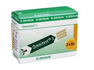 Omnitest® 3 Teststreifen 2x50 Stück