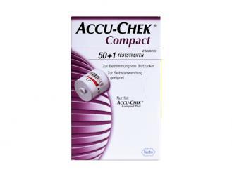 Accu-Chek® Compact Teststreifen, 1x51 Teste