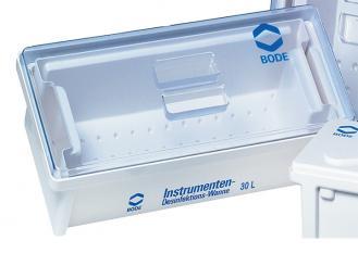 Bode Desinfektionswanne, 30 Liter mit Deckel und Auslaufhahn 1x1 Stück