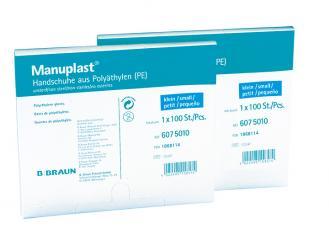 Manuplast®-Untersuchungshandschuhe klein puderfrei 1x100 Stück