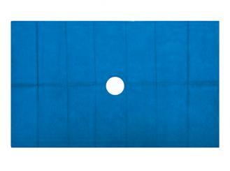 Lochtuch aus foliertem Vlies, 45 x 75 cm 1x125 Stück
