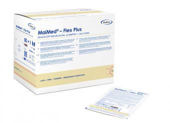 Maimed®-Flex Plus PF puderfrei, aus Latex, Gr. 8,0 1x50 Paar