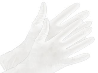 Nitril - Handschuhe Größe M puderfrei weiß 1x100 Stück
