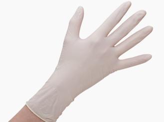 Latex-Handschuh Grip Plus Größe L puderfrei 1x100 Stück Praxisbedarf