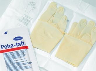 Peha-taft® Latex, puderfrei, OP-Handschuhe Gr. 6, 50x2 Stück