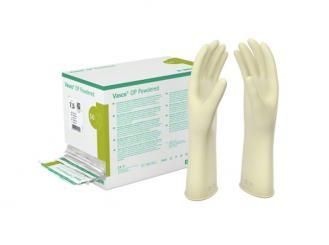 B.Braun Vasco® OP Powdered Latex-Handschuhe gepudert steril Größe 6 naturweiß 1x50 Paar