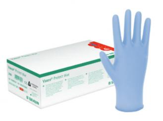 Vasco® Protect blue, Untersuchungshandschuh, pf Gr. M 1x200 Stück