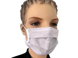 Mehrweg Atem- und Hygienemaske, weiß 1x10 Stück