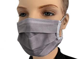 Mehrweg Behelfsmaske, grau 1x1 Stück