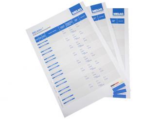 MELAdoc Dokumentationsblätter 10x100 Stück
