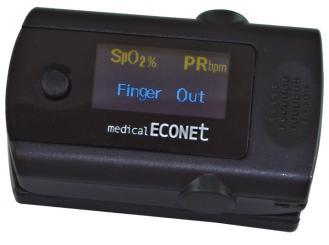 Finger-Pulsoximeter ME10 inkl. Tragekordel, Batterien und Anleitung 1x1 Stück