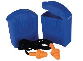 Gehörschutzstöpsel mit Band SAFELINE I, blau 1x1 Stück