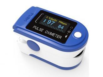 Fingerpulsoximeter PULOX PO-200 Solo blau 1x1 Stück