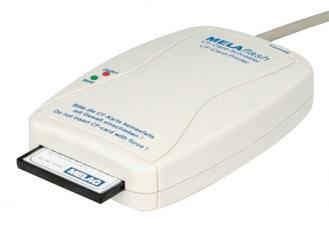 MELAflash® CF- Card - Printer, inkl. CF-Card und Kartenlesegerät 1x1 Stück
