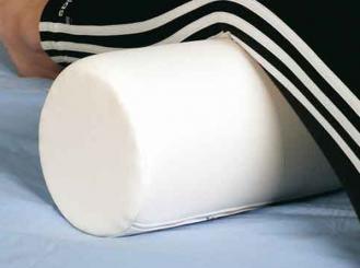 Nacken - und Knierolle, 50 x 15cm, weiß 1x1 Stück