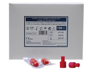 Combistopfen rot 1x100 Stück
