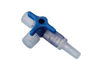 Discofix® Dreiwegehahn blau 1x50 Stück