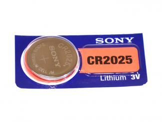 Knopfzelle CR2025 Royovac Lithium, 1x1 Stück
