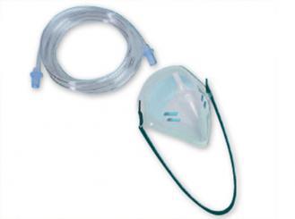 Sauerstoff-Inhalationsmaske für Erwachsene 1x1 Stück