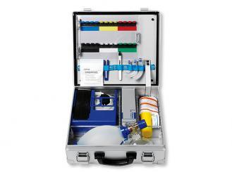 Notfallkoffer STANDARD Beatmung, Absaugung, Diagnostik, Injektion, Verbandmittel 1x1 Stück