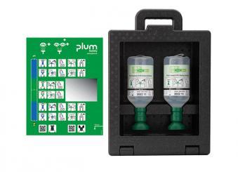 Plum iBox 2 - inklusive 2 x 500 ml Plum Augenspülung 1x1 Stück