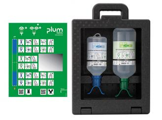 Plum iBox 2 - inkl. 500 ml Plum pH Neutral DUO und 1000 ml Plum Augenspülung DUO 1x1 Stück