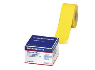 Leukotape® 10m x 3,75 cm, gelb, lose 1x12 Rollen