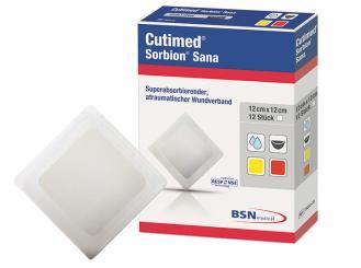 Cutimed® Sorbion® Sana 12 x 12 cm 1x48 Stück
