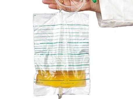 Urinbeutel 2,0 l für die Bettbefestigung, 1x10 Stück