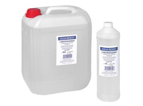 Aqua Bidest Laborwasser 1x10 Liter